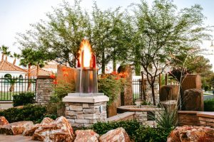 Fire pits and fire features